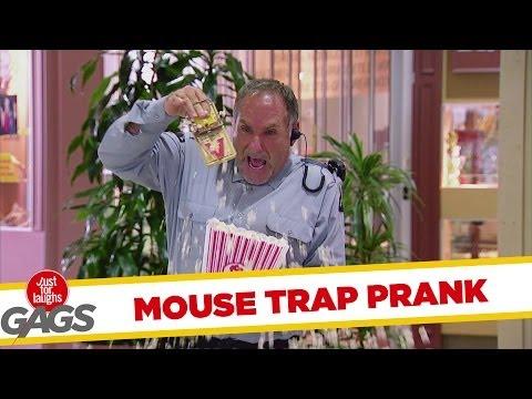 Popcorn Mouse Trap Prank - Youtube