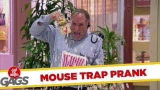Popcorn Mouse Trap Prank