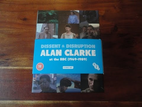 BFI's Dissent & Disruption: Alan Clarke At The BBC (1969-1989) Limited Edition Blu-ray Set Unboxing