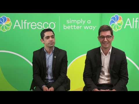 Alfresco Day Paris 2019 - Arondor, Alfresco Partner Rouzbeh Barumandzadeh & Maxime Cifrian