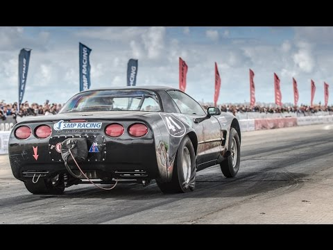 SEC - The fastest rear wheel drive car in CIS — Chevrolet Corvette C5 Turbo driven by Andrey Mulenko on Russian Drag Racing Championship Stage 5 in Crimea 2014. 1/4 mile — 8.625 sec. @ 259...