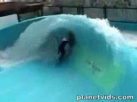 Surf en la piscina