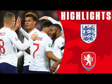 England 5-0 Czech Republic | England Off To Dream Start! | Euro 2020 Qualifiers | England