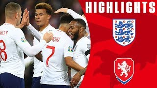 Video England 5-0 Czech Republic | England Off To Dream Start! | Euro 2020 Qualifiers | England MP3, 3GP, MP4, WEBM, AVI, FLV September 2019