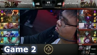 SUP vs GAM Game 2 2017 Lol eSports Mid-Season Invitational/Play-In lol. MSI 2017 GAM vs SUP G2 VOD. 2017 MSI full playlist: http://bit.ly/MSI-2017 League of Legends Season 7 Mid-Season Invitational Play-In in Brazil - Round Robin.Second match of the day - SuperMassive vs Gigabyte Marines best of 5 Game 2. SUP vs GAM.Patch: 7.8 - Season 7 Game date: 06.05.2017  05/06/2017  May 6th 2017Game place: BrazilCasters: Rusty and PyraThere are more playlists in the playlist section on the channel!You can always follow all games from both channels and news/updates on my FB page - facebook.com/EpicskillshotPlease like/share/comment and sub if you haven't yet - it helps a lot!Follow me on Twitter: www.twitter.com/epicskillshot