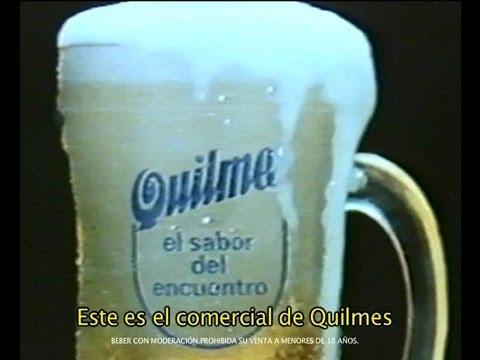 """La """"cábala"""" de Quilmes para Brasil 2014: la cervecera puso al aire su comercial del '86"""