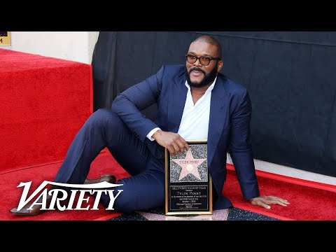Tyler Perry Walk of Fame Ceremony