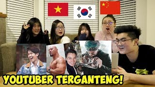 Video REAKSI CEWEK CANTIK LUAR NEGERI LIAT YOUTUBER & AKTOR INDONESIA! (ATTA HALILINTAR, BAIM WONG, DLL) MP3, 3GP, MP4, WEBM, AVI, FLV April 2019