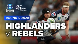 Highlanders v Rebels Rd.5 2020 Super rugby video highlights | Super Rugby Video Highlights