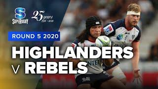Highlanders v Rebels Rd.5 2020 Super rugby video highlights | Super Rugby Video Highlights