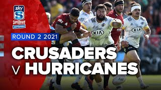Crusaders v Hurricanes Rd.2 2021 Super rugby Aotearoa video highlights | Super Rugby Video