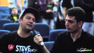 Master Class Steve Vai - Entrevista com Luciano Alf