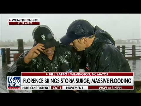 Wilmington, NC Mayor: 'Never Seen a Storm Like' Hurricane Florence