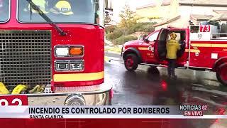 Incendio controlado por los bomberos en Santa Clarita – Noticias 62 - Thumbnail