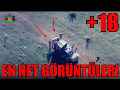 Azerbaycan Ermeni Askerlerini SİHA İle Vuruyor! (Azerbaijan UAV Attacks to Armenian)