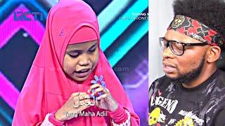 Video CATHOLIC REACTS TO HAFIZ INDONESIA 2018 - Hafalan Almaul Husna Kayla Bikin Satu Studio Menangis MP3, 3GP, MP4, WEBM, AVI, FLV Desember 2018