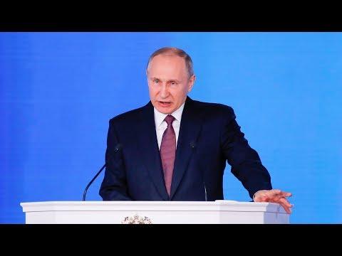 ПУТИН: послание к Федеральному собранию | 01.03.18 - DomaVideo.Ru
