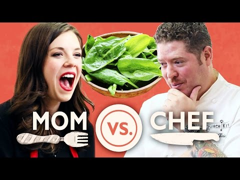 VIDEO COOKOFF! A Mom Vs. A Chef - A New Buzzfeed Series