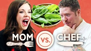 Video Mom Vs. Chef: Battle Spinach MP3, 3GP, MP4, WEBM, AVI, FLV Agustus 2018