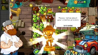 Plants vs Zombies 2 Pirate Seas Day 22 23 24 25 Android iPad/iOS Gameplay HD