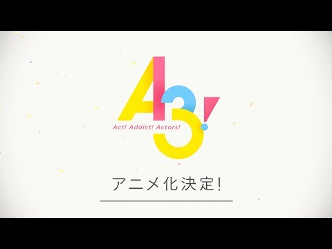El juego para móviles A3! tendrá versión anime