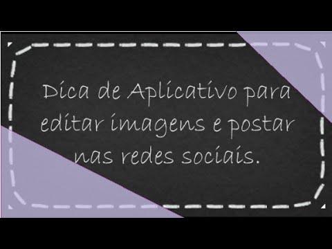 Imagens com mensagens - Dica de Aplicativo para Criar Imagens com Texto e publicar nas redes socais Face, Instagram, twiiter
