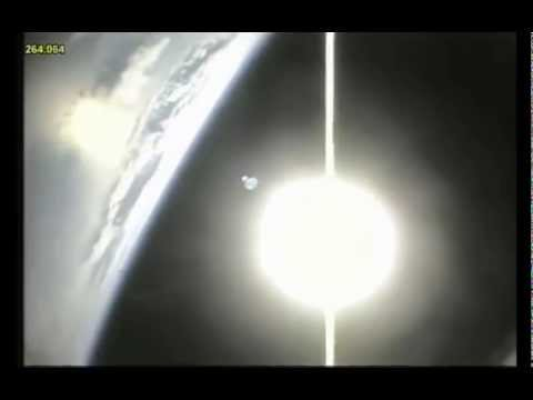 STS127 - Sensational outboard views from a NASA Space Shuttle launch with (rare) full lenght natural sound recorded from the SRBs during launch & trip up, and the spe...