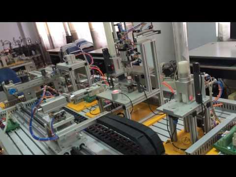 Dây chuyền sản xuất tự động hóa.lập trình plc mitshubishi-fx 3u -Red Velvet
