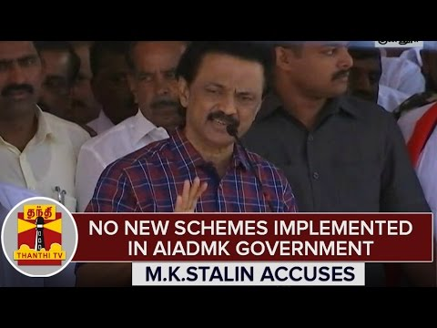 TN-Elections-2016--No-New-Schemes-Implemented-in-AIADMK-Government--M-K-Stalin-Accuses