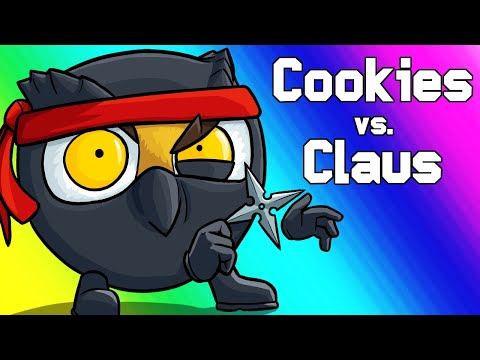 Cookies Vs Claus Funny Moments - Toy Battles And Chipbob Chocolatepants!
