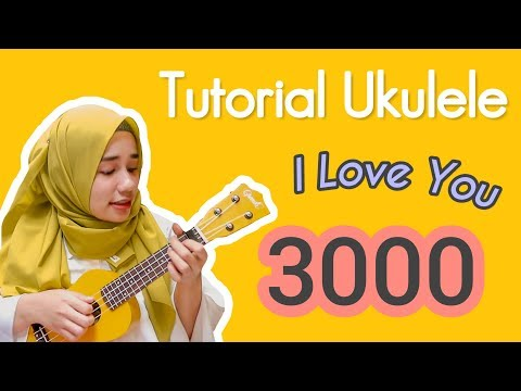 Cuma 4 Chords!! Tutorial Ukulele Pemula : I Love You 3000 - Stephanie Poetri