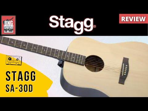 Đàn guitar acoustic Stagg SA30DCEN