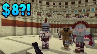 Minecraft Is Promoting This $8 Horde DLC... Is It Worth The Money?