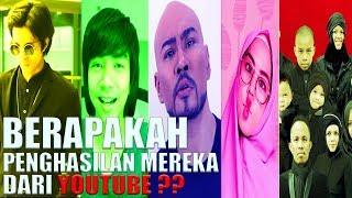 Video 5 Youtubers Indonesia Dengan Gaji Terbesar JANGAN KAGETT... MP3, 3GP, MP4, WEBM, AVI, FLV September 2018