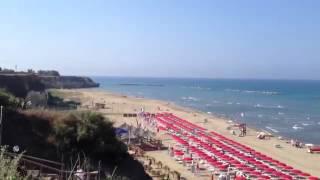 Anzio Italy  city photos : Riva Azzura beach, Anzio, Italy