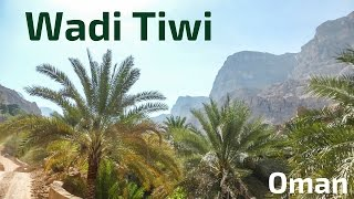 Tiwi Oman  city images : Driving in Wadi Tiwi, Oman
