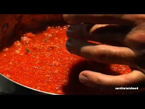 """ricette tipiche """"sardegna"""": malloreddus alla campidanese"""