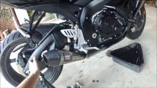 10. How To Change The Oil & Filter On A 2009 GSXR 600