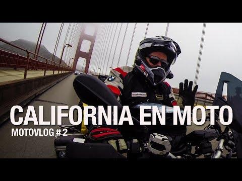Viajar en moto hasta Alaska: California / Motovlog de viajes en español #2