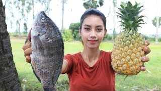 Cooking fresh fish with Pineapple recipe - Cooking skill
