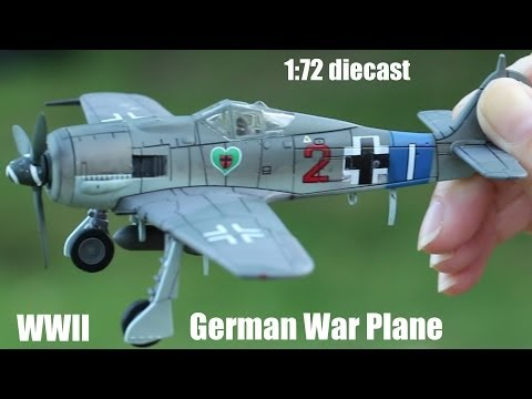 WWII - https://www.youtube.com/watch?v=m1RbmRJMn90 Click the link to see a British Spitfire die-cast plane. Thanks!!