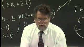 Lecture 25: Beginning Algebra (Math 70)