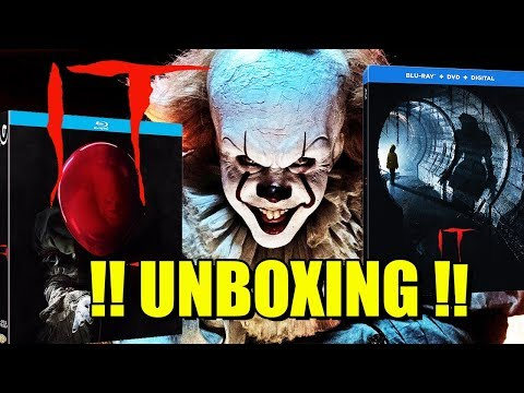 IT (2017) - BLU-RAY - UNBOXING - STEELBOOK - SLIPCOVER- TERROR - STEPHEN KING - ANDY MUSCHIETTI