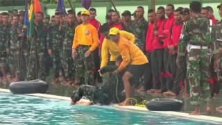 Video Kehebatan Prajurit Kodam XVI Pattimura dalam materi Renang Militer MP3, 3GP, MP4, WEBM, AVI, FLV September 2017