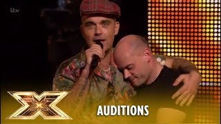 Video Robbie Williams Makes Andy Hofton´s Dream Come True! | The X Factor UK 2018 MP3, 3GP, MP4, WEBM, AVI, FLV Maret 2019