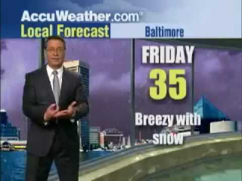 WATCH:  Meteorologist Freaks Out; Impending Doom!