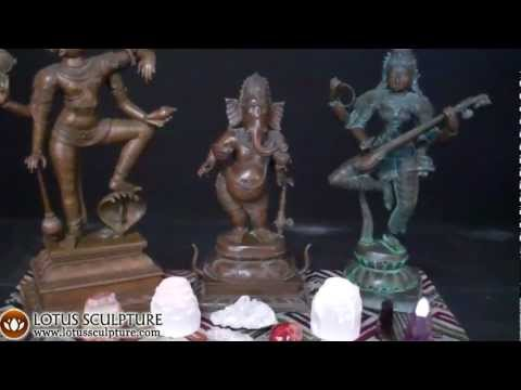 SOLD Bronze Varaha Statue with Lakshmi 24