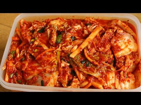 Korean Recipe: How to make Napa Cabbage Kimchi