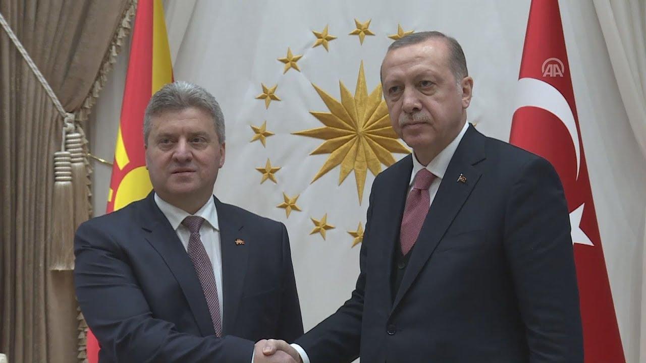 Τουρκία: Συνάντηση Ερντογάν – Ιβάνοφ με αναφορά στο θέμα του ονόματος στην κοινή συνέντευξη τύπου