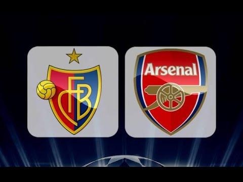 Basel 1 - 4 Arsenal Highlights FULL HD